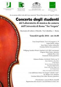locandina concerto 8 aprile